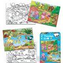 2 puzzles 20 patito feo / 3 cerditos - 09569577