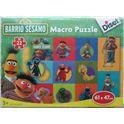 Macro puzzle barrio sesamo - 09546404
