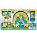 Conjunto safari: mobil, gimnasio y sonajero - 99899020