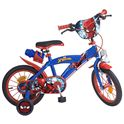 "Bicicleta spiderman 14"" - 34300874"