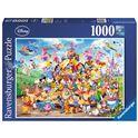 Puzzle 1000 disney carnaval - 26919383