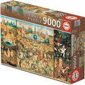 Puzzle 9.000 piezas el jardín de las delicias - 04014831