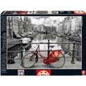 "Puzzle 1000 ámsterdam ""coloured black & white"" - 04014846"