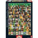 Puzzle 1000 cervezas - 04012736