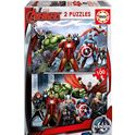 Puzzle 2x100 avengers - 04015771
