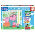 Puzzle progresivos peppa 6+9+12+16 - 04015918