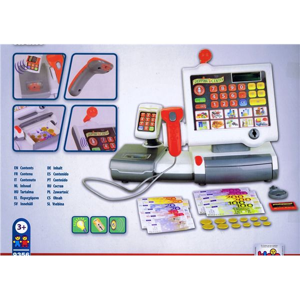 Set caja registradora grande - Caja registradora juguete ...