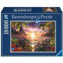 Puzzle 18000 atardecer paradisiaco - 26917824