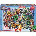 Puzzle 1000 los heroes de marvel - 04015193