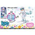Nancy esquia como tu