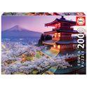 * puzzle 2000 monte fuji, japón - 04016775