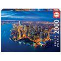 Puzzle 2000 nueva york desde el aire - 04016773