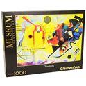 Puzzle 1000 kandiskij: ´amarillo - rojo - azul´ - 06639195(1)