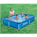 Piscina tubular rectangular 221x150x43 cm. - 86756401