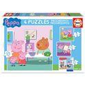 Puzzle progresivo peppa pig - 04016817