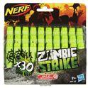 Nerf zombie 30 dardos - 25577761