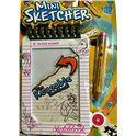 Pizarra magnetica mini sketcher rosa - 11182086