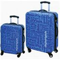 "Set 2 maletas 20"" + 24""-istyle blue - 33615849"