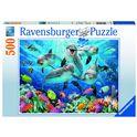 Puzzle 500 pz delfines - 26914710
