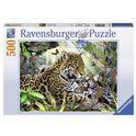 Puzzle 500 pz jaguares - 26914486