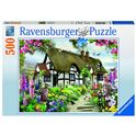 Puzzle 500 pz english cottage - 26914709