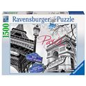 Puzzle 1500 pz parís, mi amor - 26916296