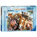 Puzzle 500 selfie en la granja - 26914695