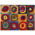 Puzzle 1500 kandinsky: estudio sobre el color - 26916377