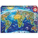 Puzzle 2000 simbolos del mundo - 04017129(1)