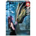 Puzzle 1000 érase una vez anne stokes - 04017099(1)