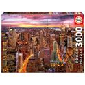 Puzzle 3000 vistas de manhattan - 04017131(1)