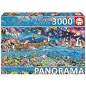 Puzzle 3000 vida panorama - 04017132(1)