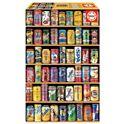 """Puzzle 1000 latas """"miniature"""" - 04014835"""