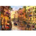 Puzzle 1500 atardecer en venecia - 04017124