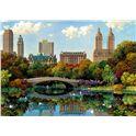 Puzzle 8000 central park bow bridge - 04017136