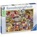 Puzzle 1500 pz colin thompson: la estanteria del b - 26916312
