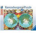 Puzzle 3000 pz globo antiguo - 26917074