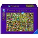 Puzzle 18000 magical bookcase - 26917825
