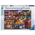 Puzzle 2000 pz el mundo de los libros - 26916685