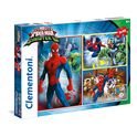 Puzzle 3 x 48 spiderman sinister - 06625217