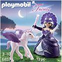Reina luna con bebe pegaso - 30006837