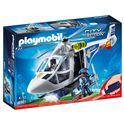 Helicoptero de policia con luces led - 30006921