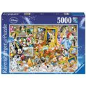 Puzzle 5000 mickey artista - 26917432