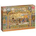 Puzzle 3000 azulejos de barcelona- jumbo - 09518590(1)