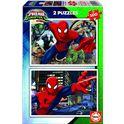 Puzzle 2x100 spider-man - 04017171