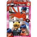 Puzzle 2x48 miraculous /lady bug - 04017276