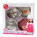 Set de cocina 6 piezas metal - 86490510