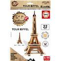 Puzzle 3d madera tour eiffel - 04017303
