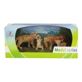 Pack 4 animales tigres