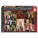 Puzzle 1500 juego de tronos - 04017125